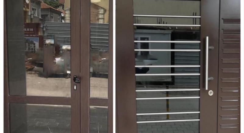 Подмяна на входната врата с метална такава