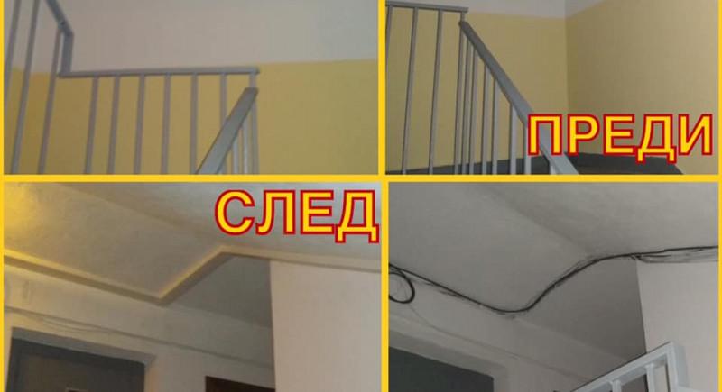 Поставяне на кабел канали